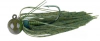 lunker-city-football-head-jig---green-pumpkin-